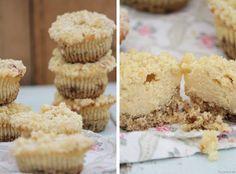 Tulpentag: Cheesecake-Streusel-Muffins #kaesekuchen #Käsekuchen #Rezept