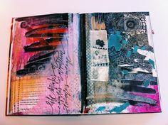 #art #journal #bybun #handmade