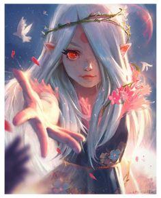 Kawaii Anime Girl, Manga Kawaii, Anime Art Girl, Anime Fantasy, Fantasy Girl, Dark Fantasy, Gothic Anime, Fantasy Dress, Gothic Art