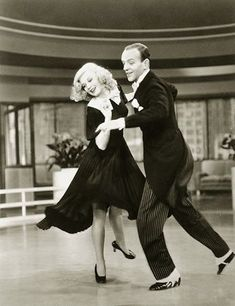Swing Time w/ Fred Astaire and Ginger Rogers