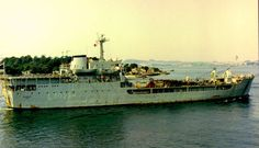 RFA Sir Geraint, Ascension Island to Port Stanley, February 1984, 10 Day cruise haha.