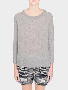 Essential Cashmere Sweatshirt | White + Warren - White + Warren