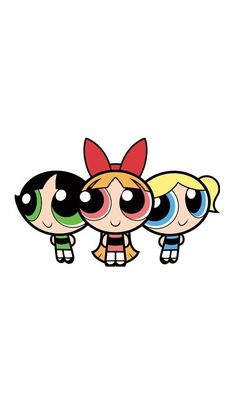 the powerpuff girls Cartoon Wallpaper Iphone, Cute Disney Wallpaper, Cute Cartoon Wallpapers, Girl Wallpaper, Galaxy Wallpaper, Aztec Wallpaper, Wallpaper Backgrounds, Iphone Backgrounds, Screen Wallpaper