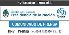 CONSTRUCCIÓN DE ALCANTARILLA SOBRE RUTA NACIONAL Nº 12 KM 621 - SANTA ELENA DIGITAL