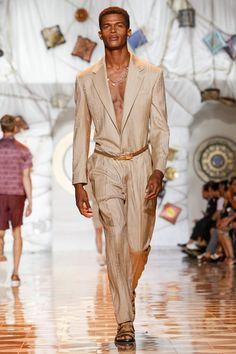 #Versace #Menswear #SpringSummer2015 #Milan #MFW