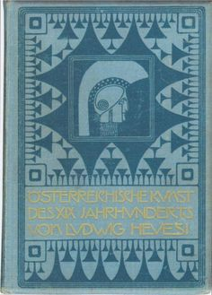 Austrian Art in the 19th century cover design by Koloman Moser. 1903 - WikiPaintings.org