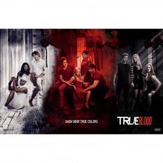 True Blood Show Your True Colors Triptych Poster [11x17] $9.99