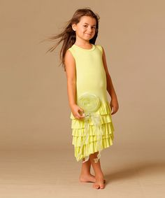 This Citrus Mia Dress - Toddler & Girls by KidCuteTure is perfect! #zulilyfinds