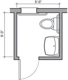 Master Bathroom Remodel Layout Floor Plans Square Feet