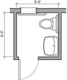 Image Result For Small Wet Room Floor Plans Bathroom Bat