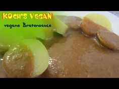 Vegane Bratensoße selber machen // Vegan gravy by Koch's vegan Pickles, Cucumber, Cheese, Recipes, Youtube, Vegan Recipes, Frugal, Cook, Diy