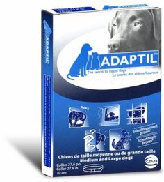 Calm Your Dog With Adaptil™ Dog Appeasing Pheremones ... see more at PetsLady.com ... The FUN site for Animal Lovers