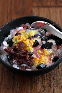 Ice Kacang/ABC (Malaysian Shaved Ice) | Easy Asian Recipes at RasaMalaysia.com | rasamalaysia.com