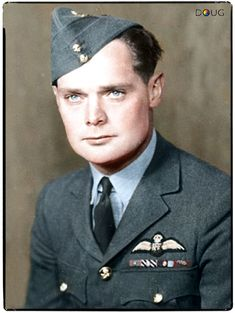 """DOUGLAS BADER. TIN LEGS BATTLE OF BRITAIN HERO. ENDED UP IN COLDITZ. The British responded on 19 August 1941 with the """"Leg Operation""""—a RAF bomber was allowed to drop a new prosthetic leg by parachute to St Omer, a Luftwaffe base in occupied France, as part of Circus 81 involving six Bristol Blenheims and a sizeable fighter escort. The Germans were less impressed when, task done, the bombers proceeded on to their bombing mission to Gosnay Power Station near Bethune,"""