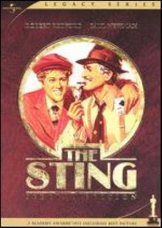 DVD.  Two con men set out to avenge the death of a mutual friend in 1930s Chicago. They swindle a powerful crime lord, pitting brain against brawn and pistol.