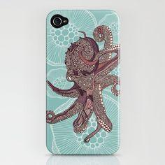Octopus iPhone case. Woah