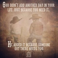 #LiveYourLife #BeStrong #SomeOneNeedsYou #STSRanch pic.twitter.com/OmMFtgZqDC