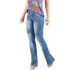 calca jeans boot cuts na moda