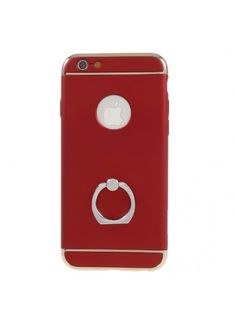Coque iPhone 6s 6 Ring Support Doigt Intégré - Rouge