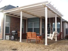 Vinyl Fencing Shade Structure And Dallas Texas On Pinterest