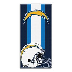 San Diego Chargers NFL Zone Read Cotton Beach Towel 30in x 60in