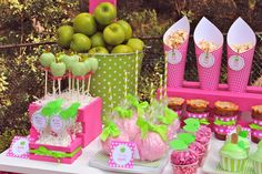 "Photo 2 of 51: Apple / Birthday ""Apple of My Eye"" | Catch My Party"