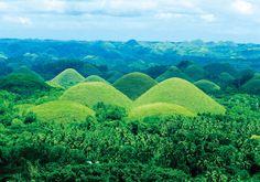 Chocolate Hills : Bohol, Philippines