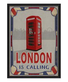 'London Is Calling' Wall Art