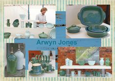 Arwyn Jones will showing his range of ceramics at the Pottery and Food Festival Wardlow Mires.