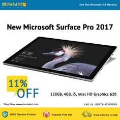 Shop for New Microsoft Surface Pro 2017 Online New Surface Pro, Microsoft Surface Pro 4, Online Cash, First Year, Uae, News, Shop, Store