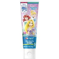Oral-B Stages Toothpaste Bubble (Pink) 4.20 oz