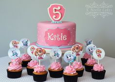 Paw Patrol girls theme cake by K Noelle Cakes