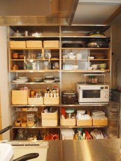 Pushbullet - Your devices working better together Organisation Hacks, Kitchen Organization, Kitchen Storage, Bathroom Interior, Kitchen Interior, Modern Interior, Layout Design, Design Ideas, Muji Home