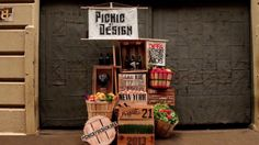 Picnic By Design 2013 Video. DIFFA   New York City. Picnic By Design is an exciting new summer soiree benefiting DIFFA. Guests receive a picnic basket and movie night. What a fun concept and extraordinary  marketing/styling and photography! PopUp Republic