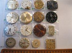 16 Vintage Wrist Watch Dials Steampunk Jewelery by HandzofTime, £6.40