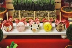 Farm, Barnyard Birthday Party Ideas | Photo 6 of 17 | Catch My Party