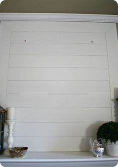 horizontal planks wall