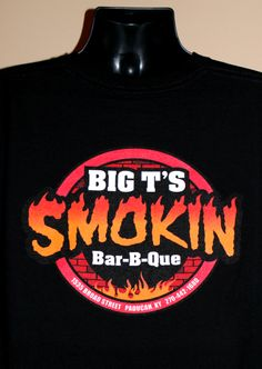 Hultman Screen Printing www.hultman-inc.com Big T's Smokin Bar-B-Que