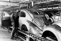 VW split window Assembly Line