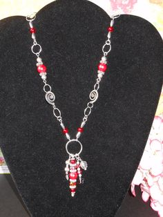 The Rose Bud Necklace by OurBeadedCharms on Etsy, $16.50