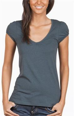 Love a simple, affordable t-shirt with a little bit of style
