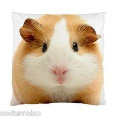 NEW CUSHION CASE PILLOW CASE - Funny Cute Guinea Pig | eBay