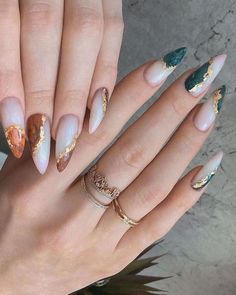 Aycrlic Nails, Chic Nails, Stylish Nails, Trendy Nails, Swag Nails, Hair And Nails, Perfect Nails, Gorgeous Nails, Nagellack Design