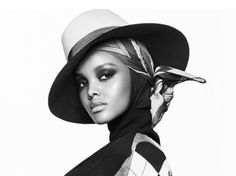 """All Eyes On Halima Aden""Model Halima Aden for VOGUE Arabia June..."