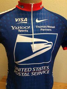 5845bdc8e USPS United States Postal Service Cycling Jersey