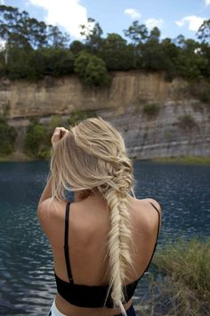 The messier the better sometimes!! Make your braid look effortless by just clipping in a few tracks of Cashmere Hair Clip-In Extensions http://www.cashmerehairextensions.com