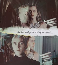 dramione/feltson or whatever why can't you be true?  {is this really the end?}