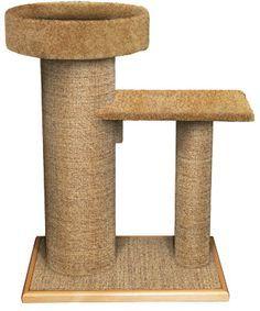 DIY Cat Scratching Post. #cats #CatScratchingPost