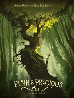 Sketch Hunter: The Art of Andrew Bosley: Plain and Precious: An Animated Short...The Teaser Poster is done