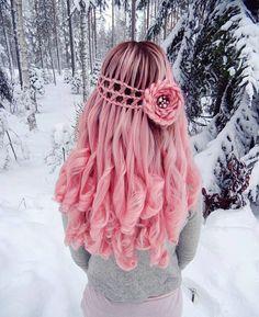22 best creative long braided hairstyles 2019 - My list of the most creative hairstyles Pretty Hair Color, Beautiful Hair Color, Beautiful Dream, Long Braided Hairstyles, Pretty Hairstyles, Teen Hairstyles, Rose Hairstyle, Flower Hairstyles, Hairstyles Pictures